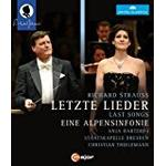 Anja Filmer Strauss:Alpensinfonie [Christian Thielemann, Anja Harteros; Staatskapelle Dresden] [C MAJOR: BLU RAY] [Blu-ray] [2014] [Region Free]